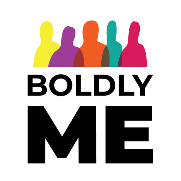 Boldly Me Health week 2019 graphic shows a bunch of colorful people