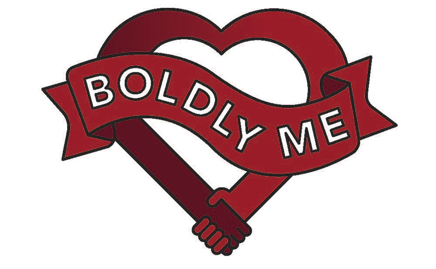 cropped boldly me heart logo