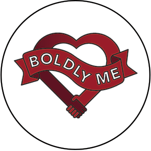 boldly me button