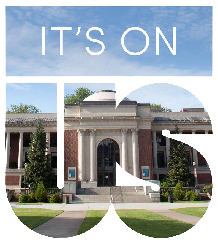 it's on us graphic with memorial union featured