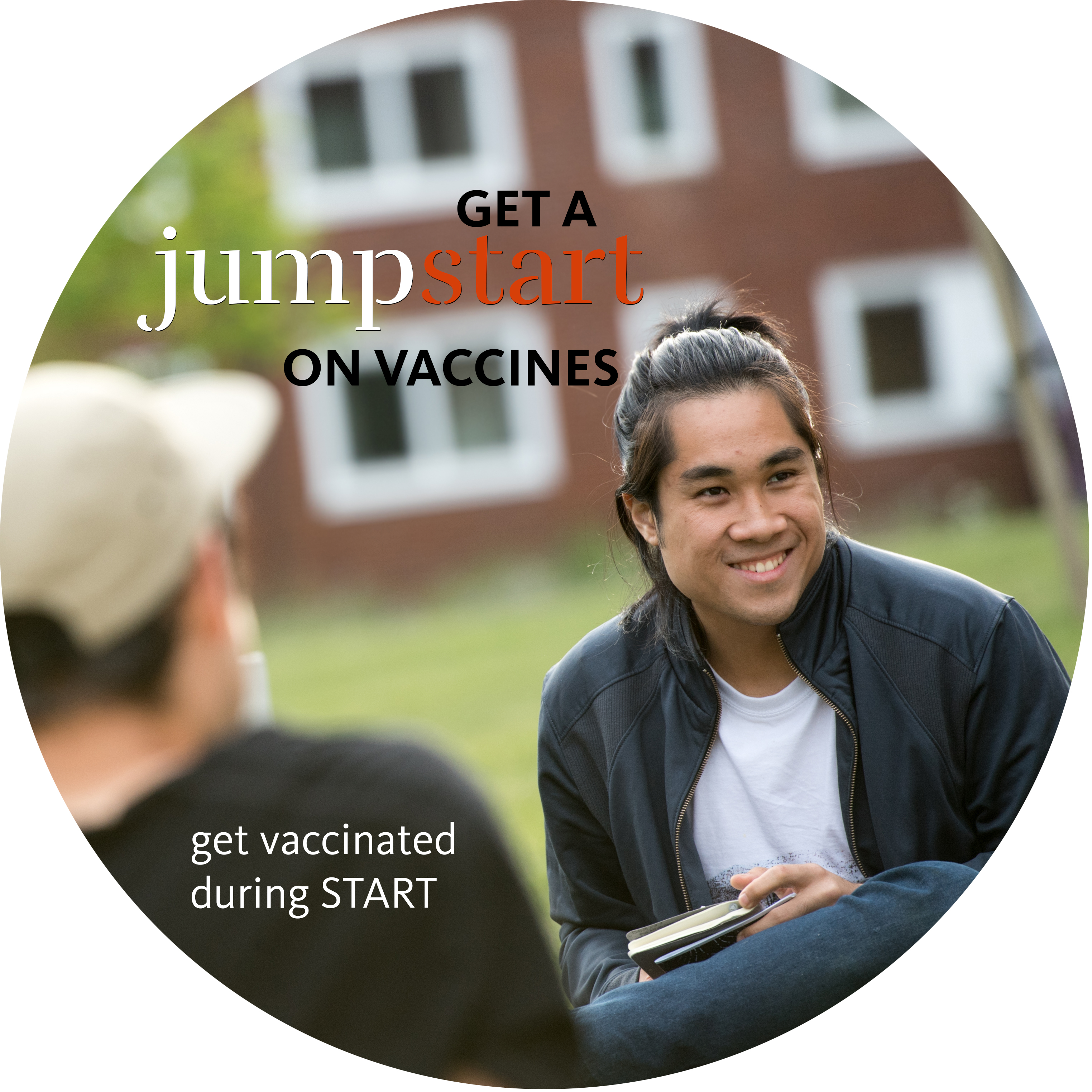 START vaccination button