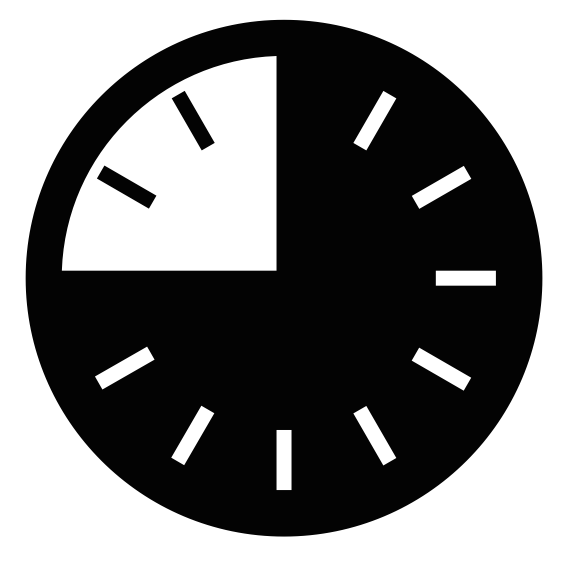 dixon clock graphic