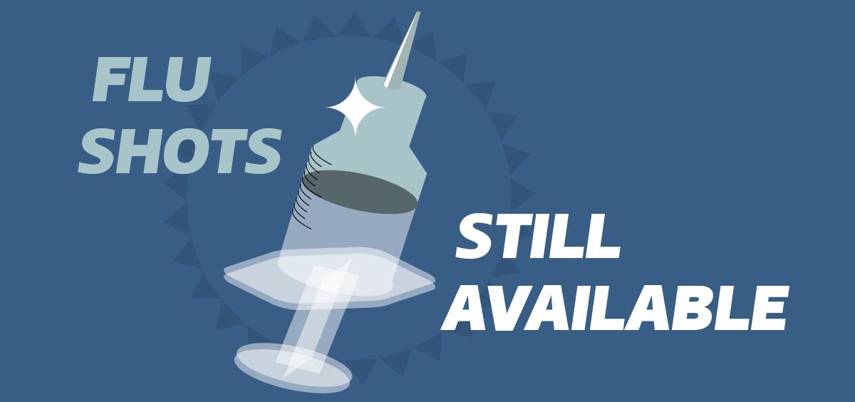 Flu shots are still available at SHS