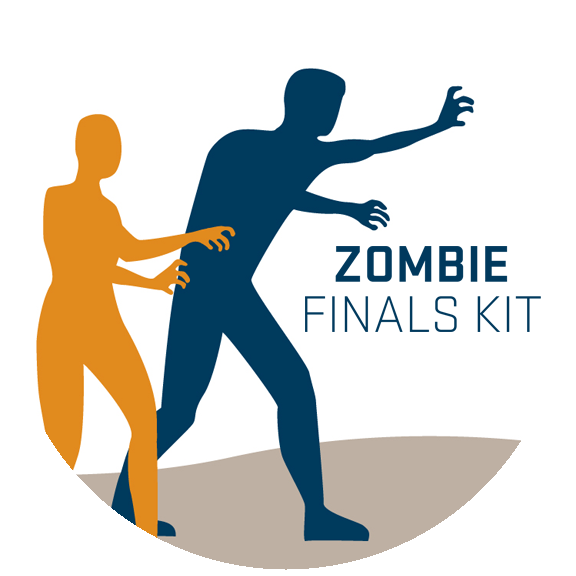 Free Zombie Kits to survive finals week.